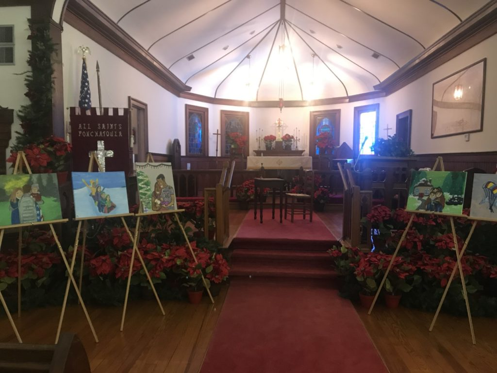 madisonville church decorated